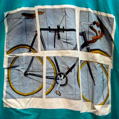 Altru Apparel mens t-shirt Broken Fixie