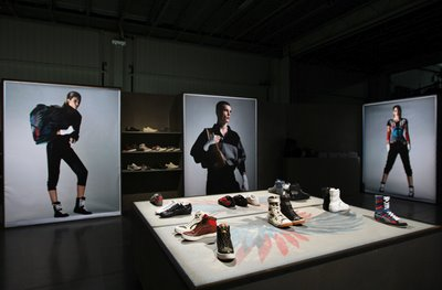 Alexander McQueen Puma showroom Autumn/Winter 2009 collection Milan