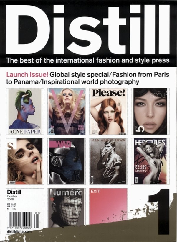 Distill Magazine Launch Issue October 2008