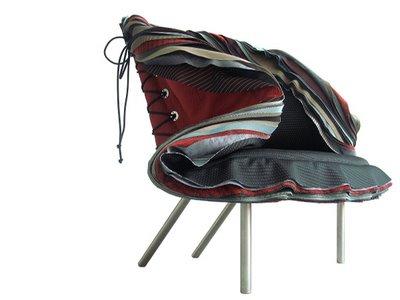 Simone LeAmon Lepidoptera chair 2008