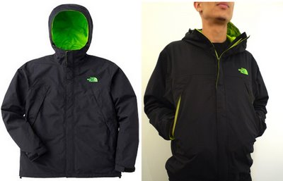 North Face Scoop Jacket - Green