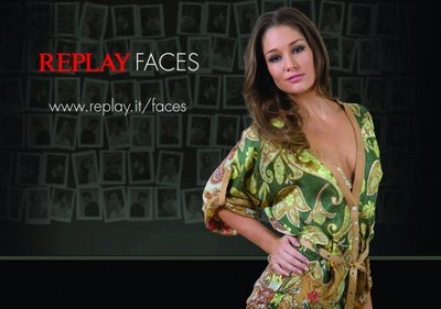 Replay Faces Competition Erin McNaught