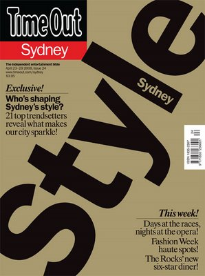 Time Out Sydney Issue 24 - Style Sydney