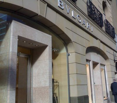 Windsor Fashion Stores on Bulgari Launches Twin Stores In Sydney