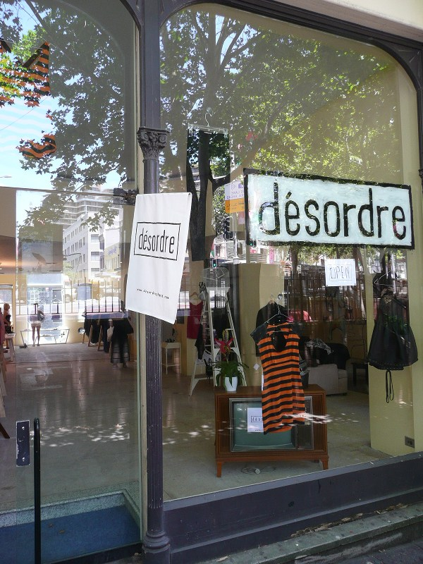 Desordre Oxford St exterior