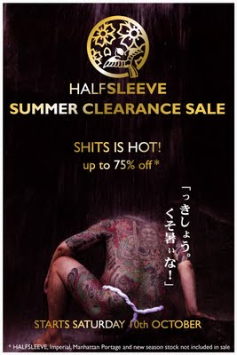 Halfsleeve Summer Clearance Sale 2009