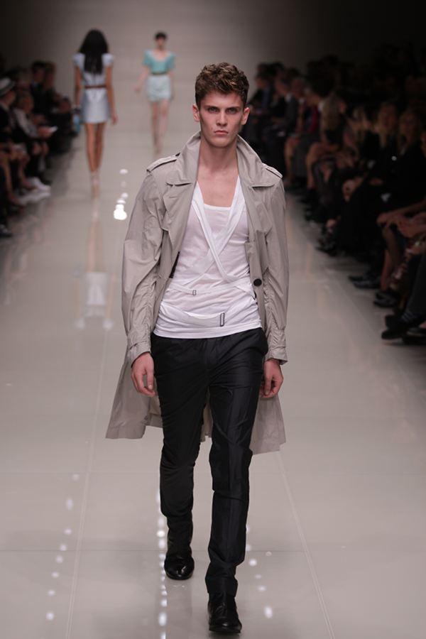 London Fashion Week 2009 Burberry Menswear