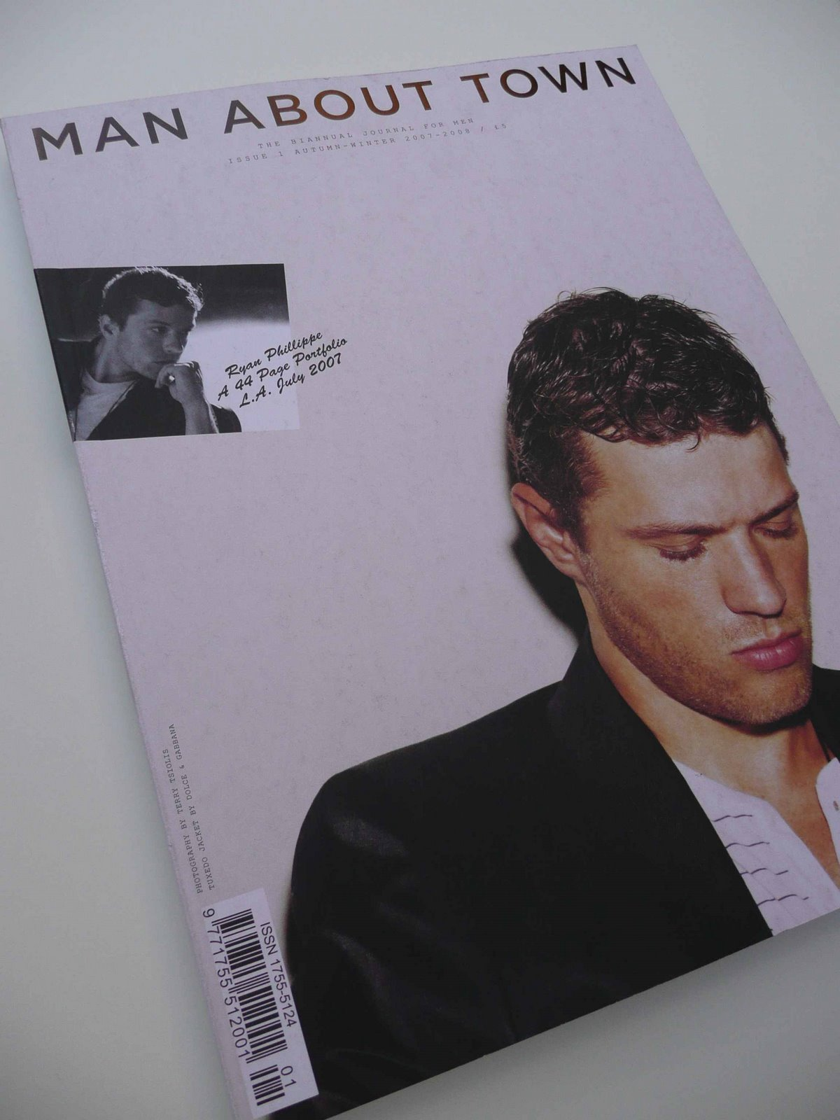 Man About Town Magazine Issue1 Cover