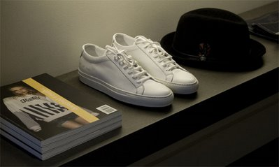 Shoes, Hat and Magazines