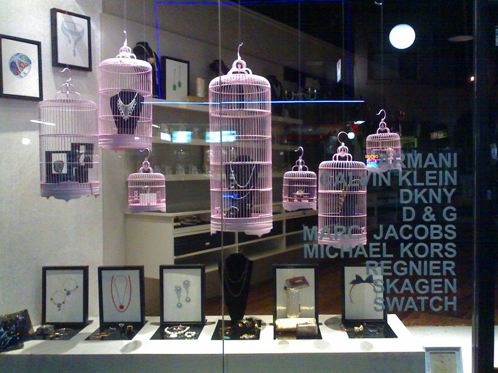 Shop window display inspiration for Boutique window display ideas